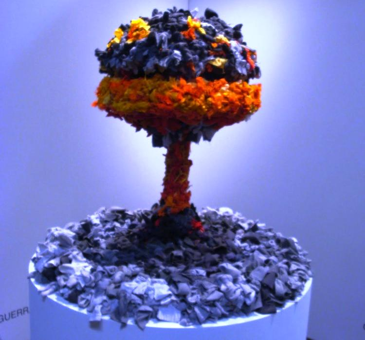 Amazing Pieces Of Art Made From Recycled Materials