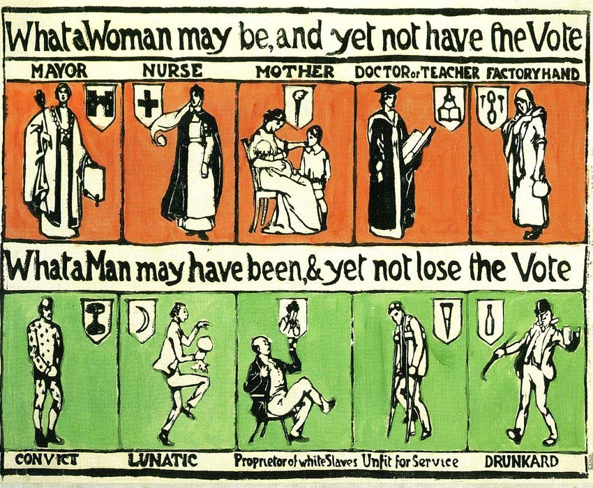 Suffrage Movement Poster
