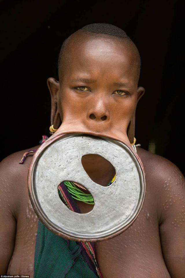 Extreme Body Modification Lip Plate In