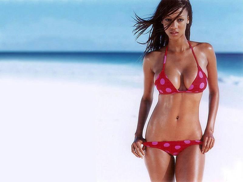 Tyra Banks History of Women's Swimwear