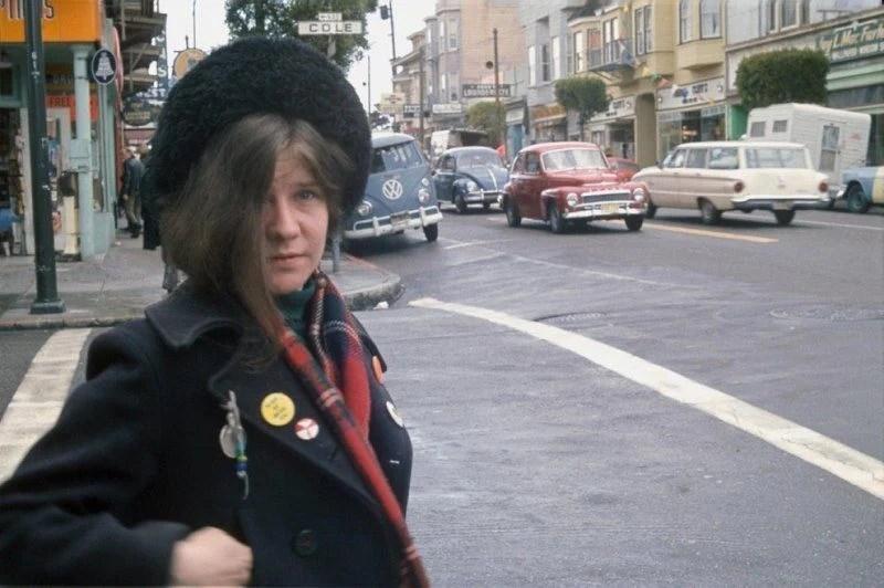 Janis Joplin Haight Street 1967