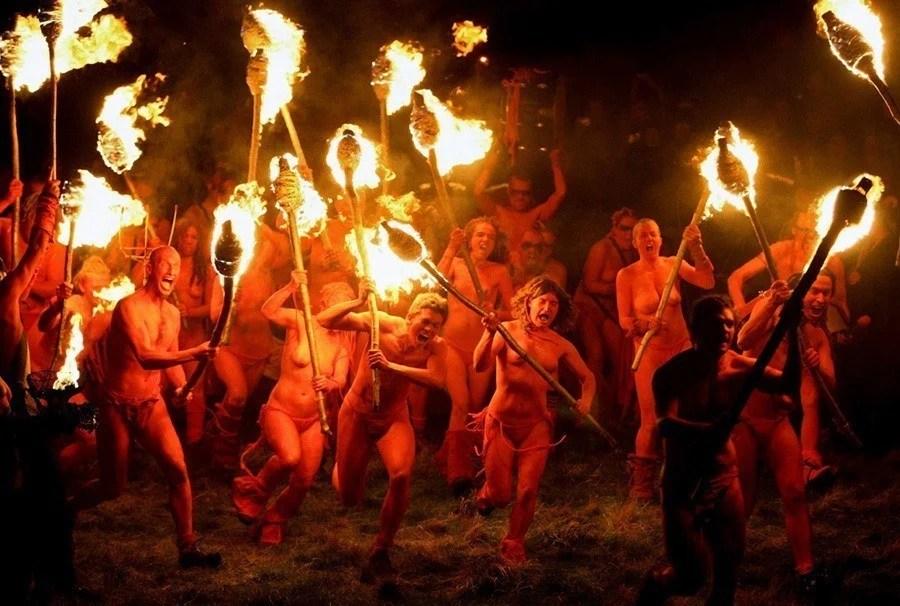 beltane fire festival outrageous