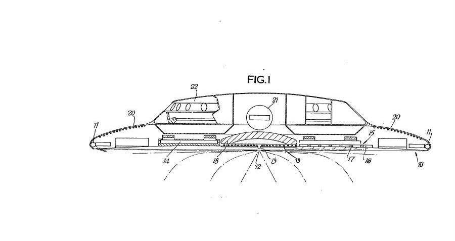 The Queen's Flying Saucers: When British Rail Patented A