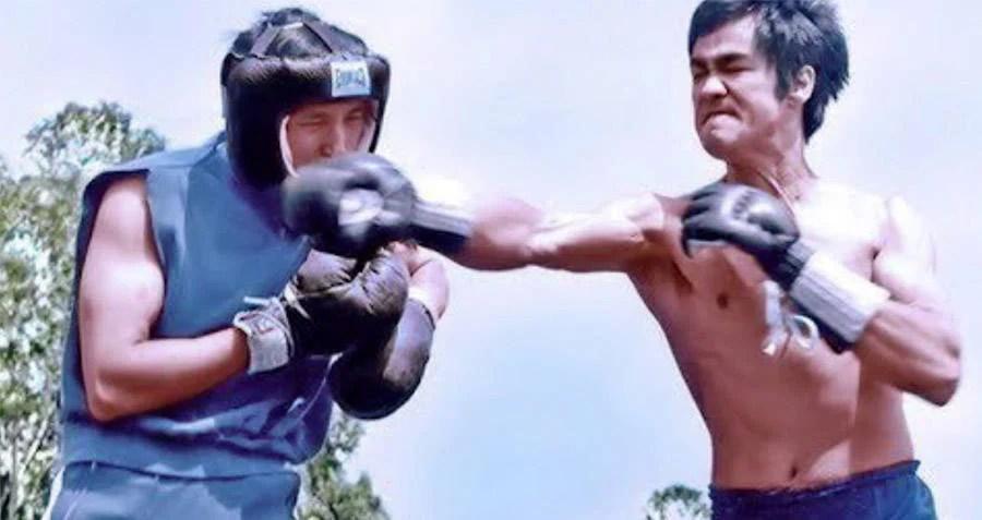Bruce Lee Sparring