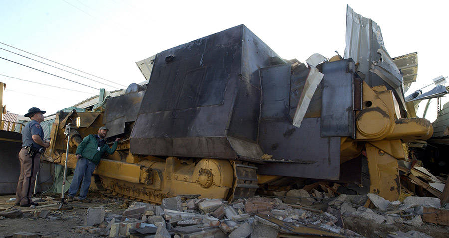 Killdozer Being Inspected