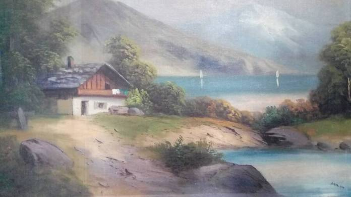 One Of Hitler's Landscape Paintings