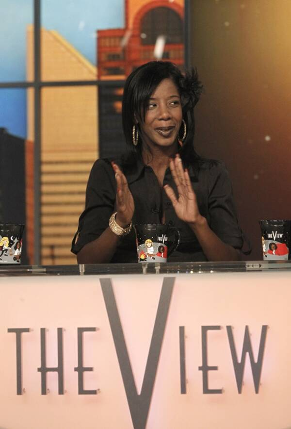 Marcy Borders On The View