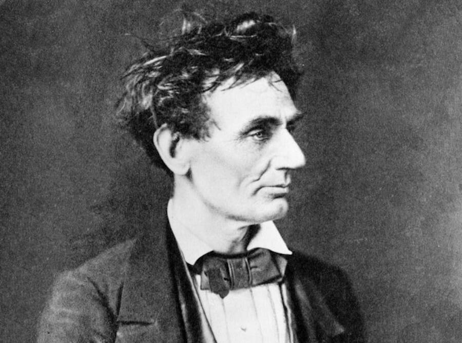 Abraham Lincoln With Tussled Hair