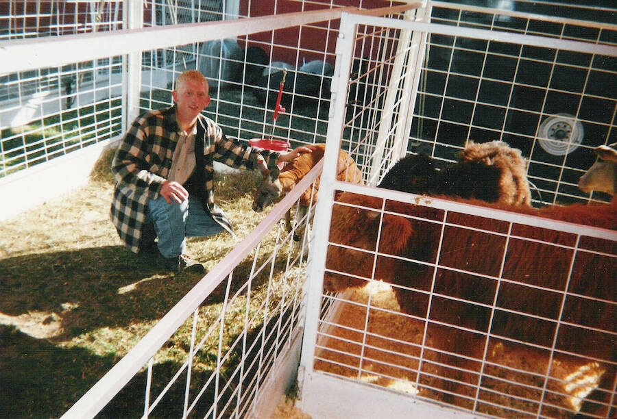 Branson Perry And Animals