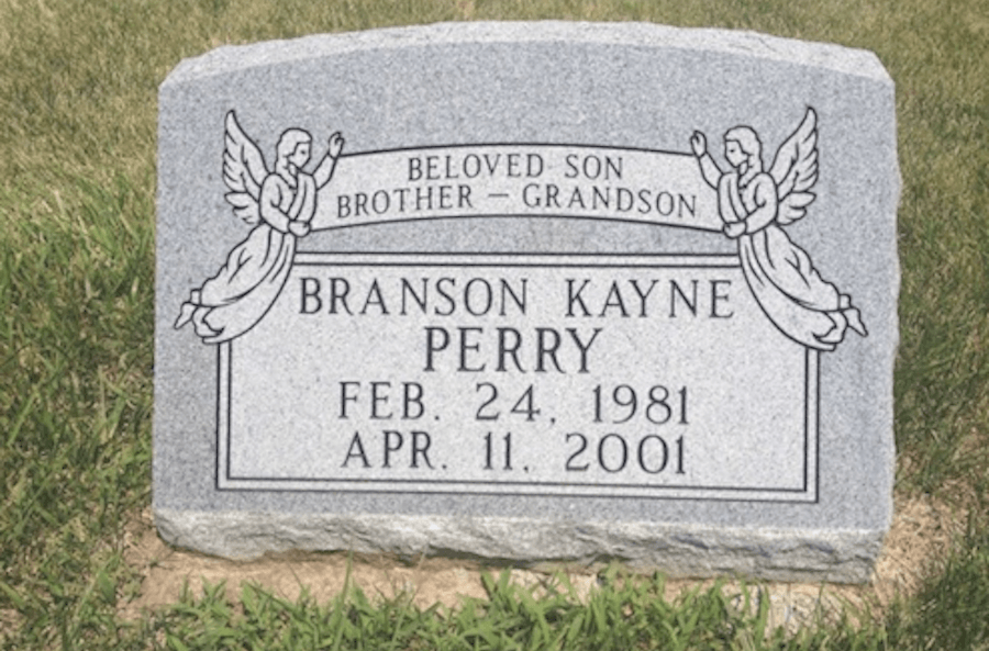 Grave Of Branson Perry