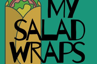 My salad wraps
