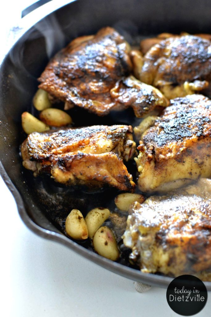 Here's a grain-free, gluten-free version of the classic, gourmet dish Chicken With 40 Cloves of Garlic. Suitable for Paleo, Whole30, and Keto lifestyles. With all this garlic, this delicious dish is also a great immune-booster during sick season! Load up on that garlic!