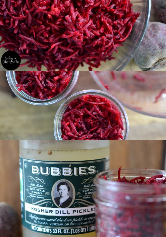 How To Ferment Vegetables In Bubbie's Pickles Liquid }| Once you've eaten all your crispy, delicious Bubbie's pickles, you'll be left with about 2 cups of liquid that's still full of fermenting potential! I have cultured veggies with a starter culture, with whey, and with salt only -- and I LOVE using Bubbie's Pickles liquid as my starter culture! | AllTheNourishingThings.com