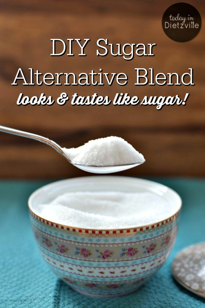 DIY Sugar Alternative Blend, aka Dietz Sweet | This year, I ended my 32-year committed relationship with sugar. But I'm not missing out on sweets because I have a trick up my sleeve for a DIY blend that substitutes for sugar cup for cup! | AllTheNourishingThings.com