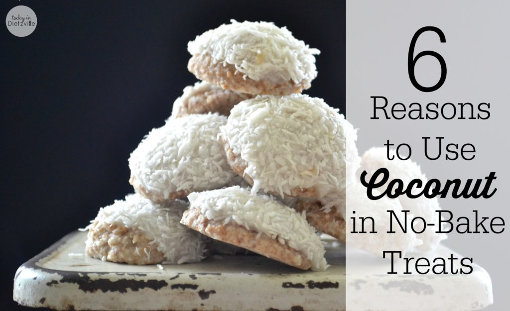 6 Reasons to Use Coconut in NoBake Treats 2