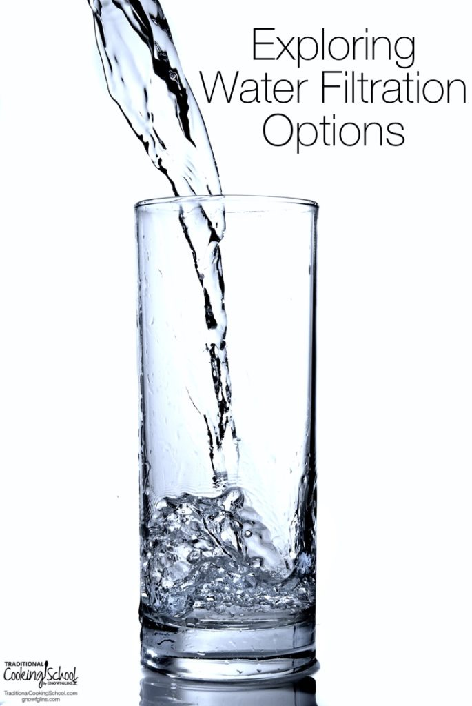 What is the healthiest way to drink your water? What is the best water to shower in? Learn everything you need to know about the water filtration options... the good, the bad, and the ugly! Learn all the options to get chlorine, fluoride, heavy metals, and other toxins out of your water, too!