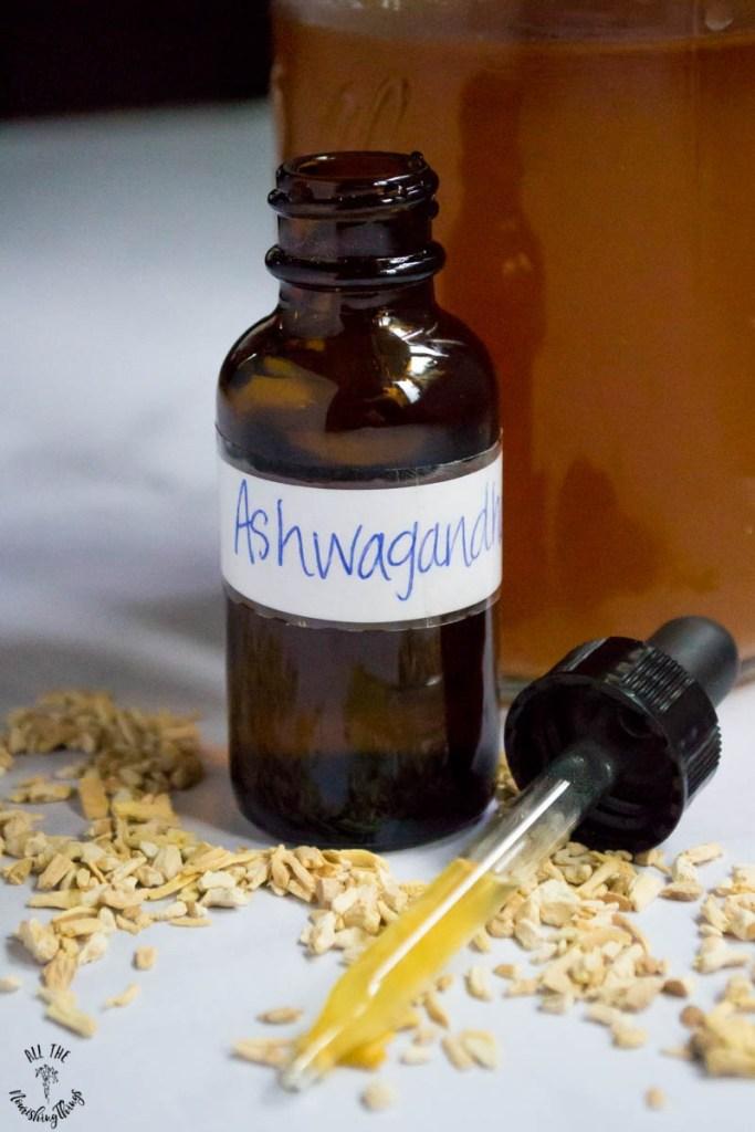 How to Make an Ashwagandha Tincture (+ ashwagandha's benefits for hormones, adrenals, mental health, & more!)