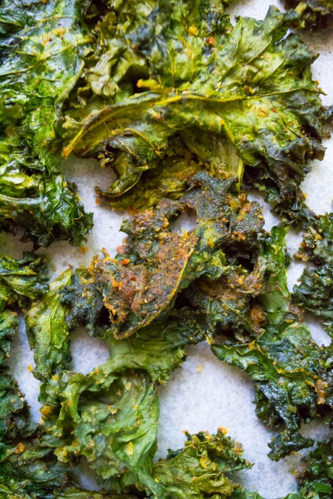 The BEST Kale Chips Recipe: Spicy Chipotle Kale Chips (dairy-free, nut-free, vegan)