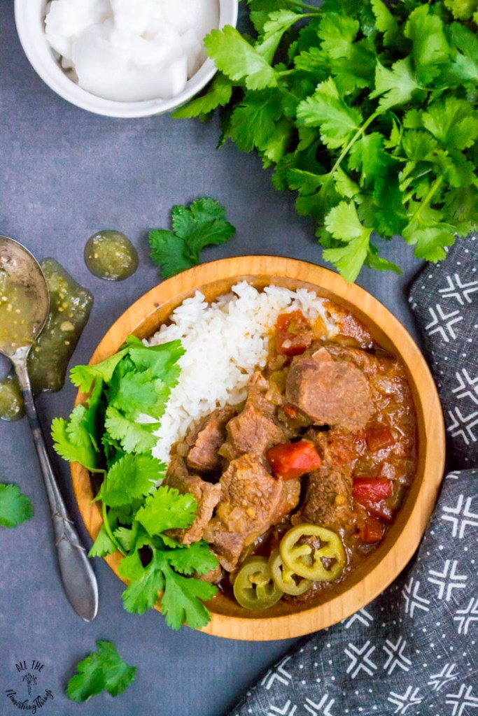 Instant Pot Mexican Beef Stew (keto, paleo, Whole30)