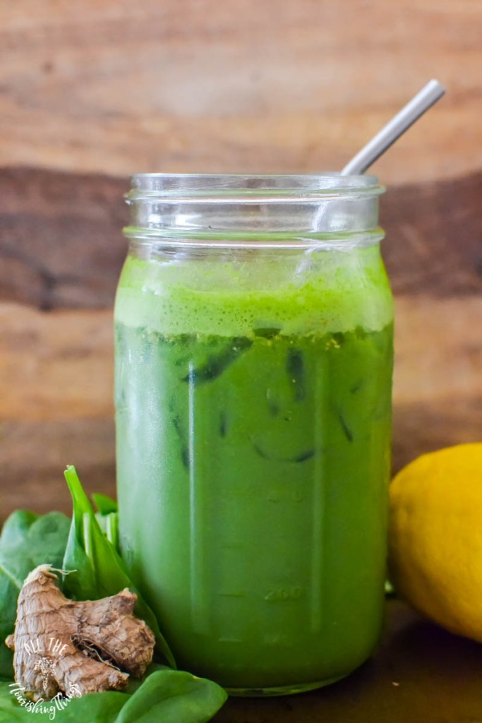 Green Hippie Juice with MCT & CBD Oils (nourish, detox, energize!)