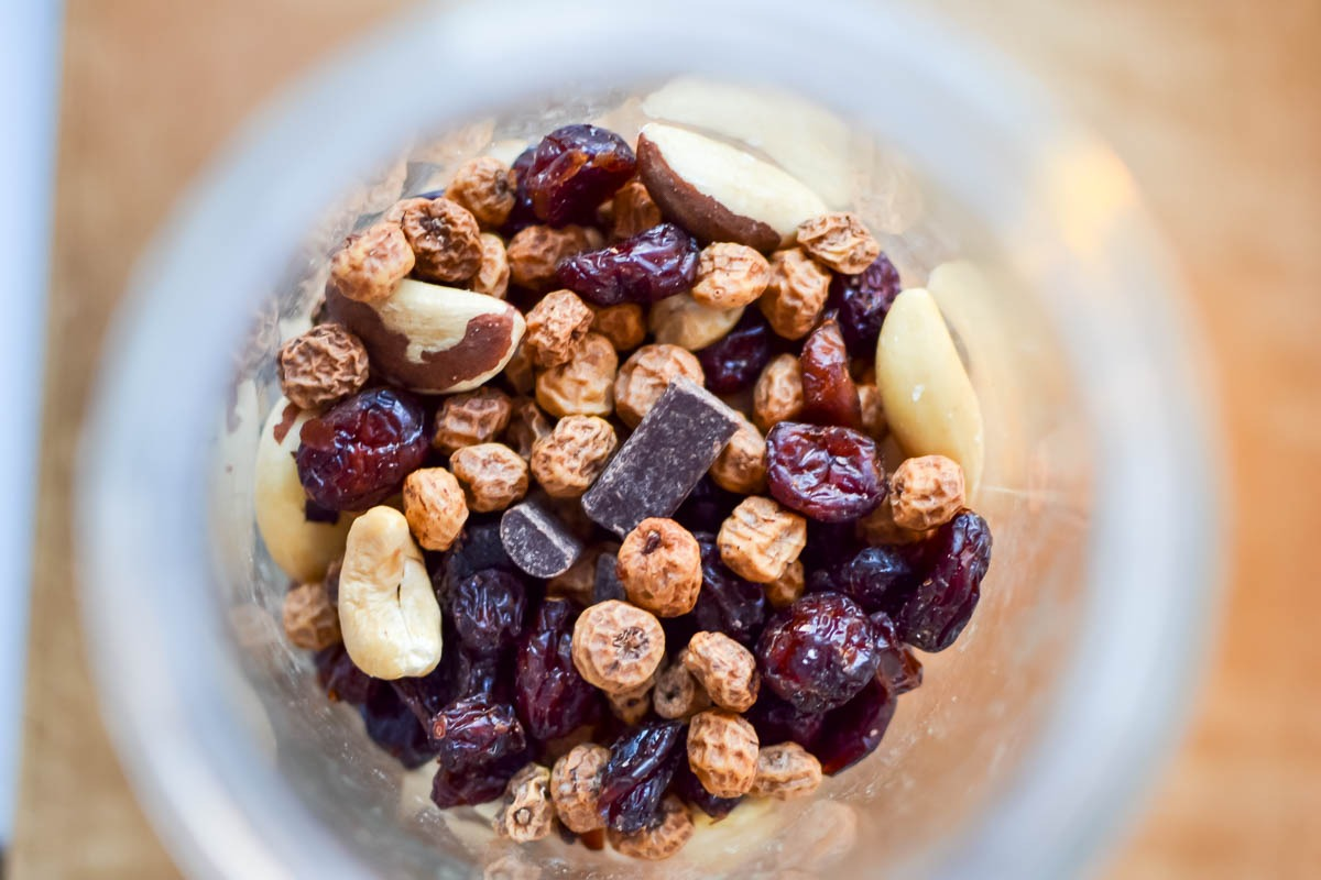 paleo tiger nut trail mix