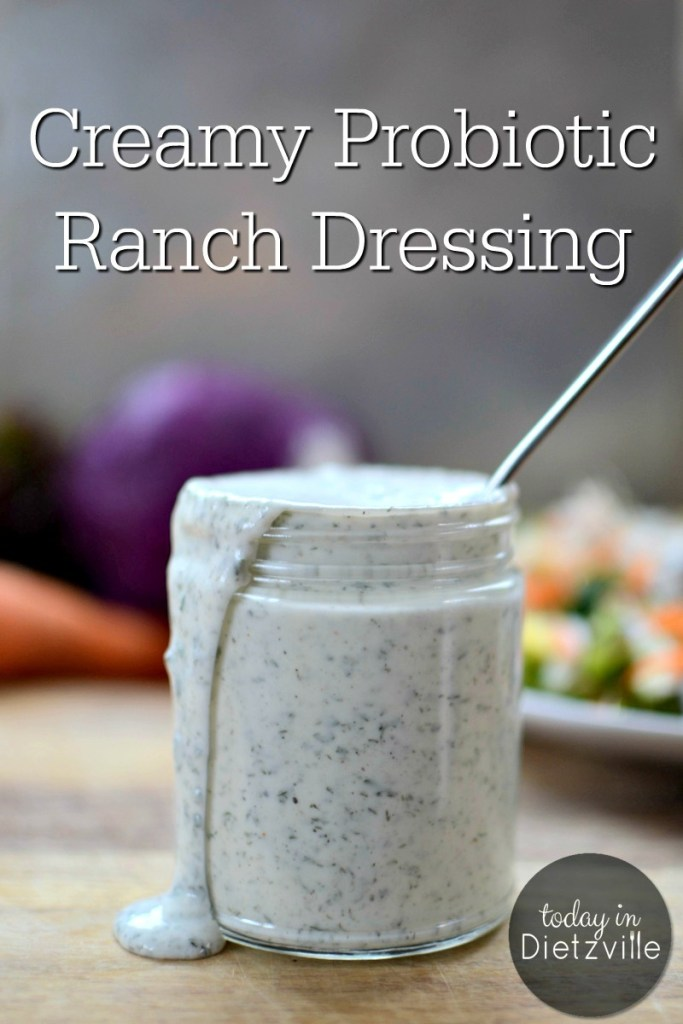 Creamy Probiotic Ranch Dressing