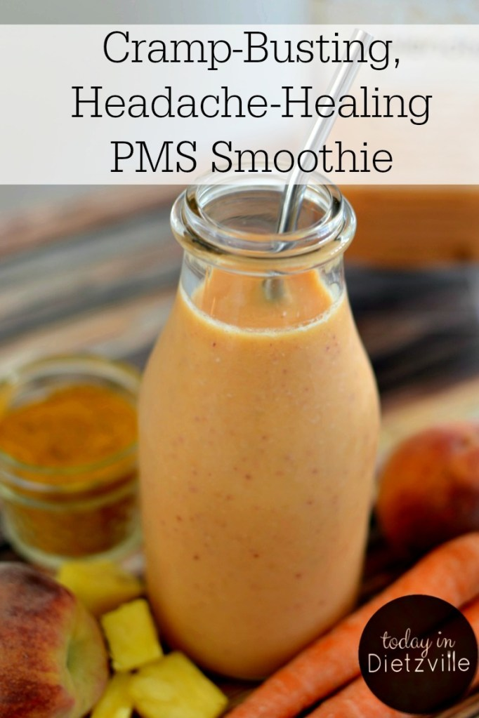 Cramp-Busting, Headache-Healing PMS Smoothie