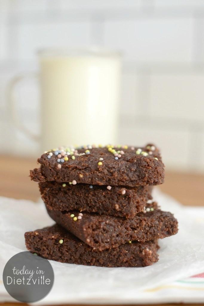 Ooey Gooey Allergy-Friendly Brownies {grain-free, gluten-free, nut-free, dairy-free, egg-free, bean-free}
