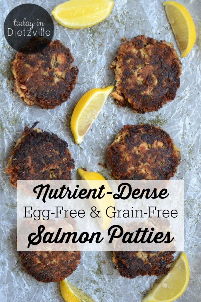 Nutrient-Dense Egg-Free & Grain-Free Salmon Patties