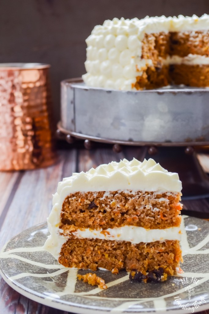 Grain-Free & Low-Carb Maple Carrot Cake with Cultured Cream Cheese Frosting