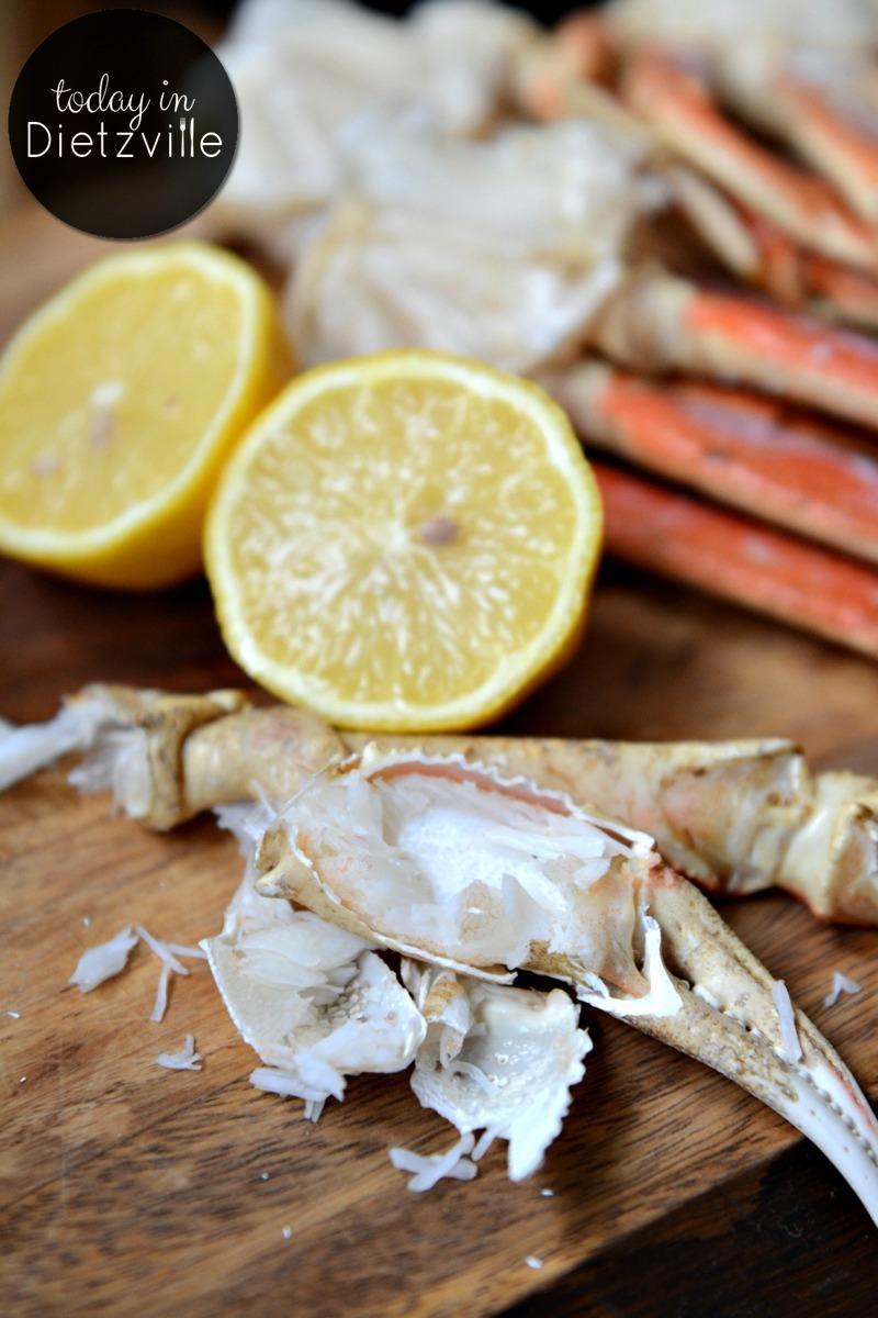 instant pot crab legs with lemon