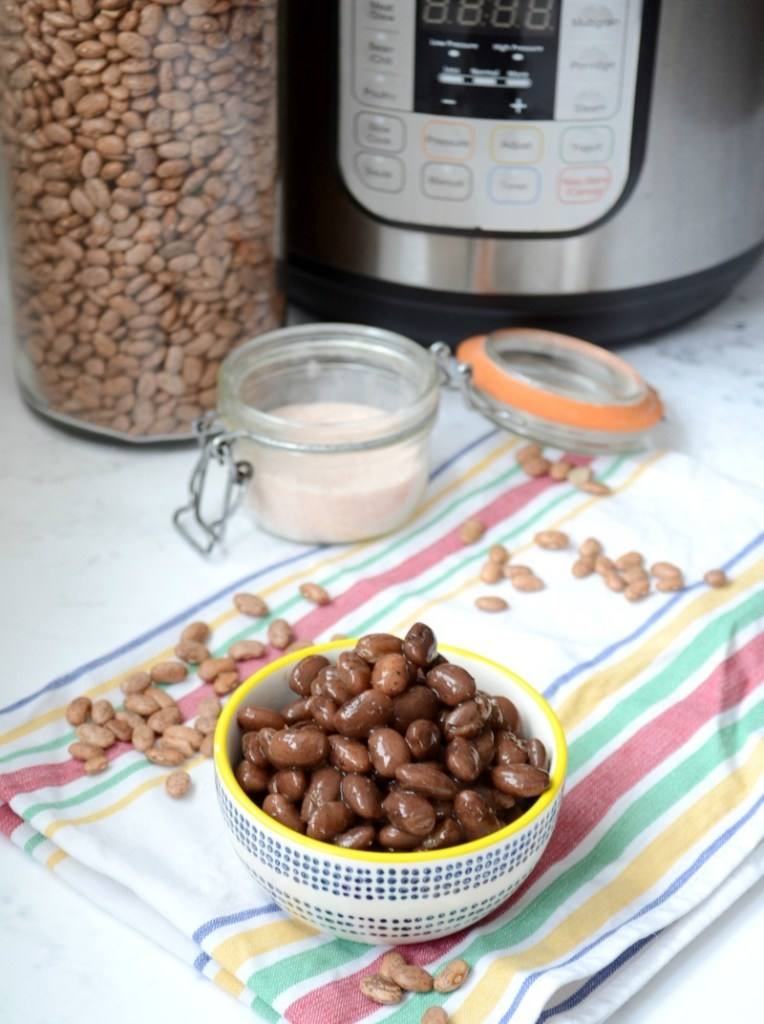 Instant Pot Ranchero Beans {nourishing, soaked, no gas!}