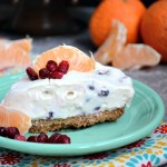 With probiotics and antioxidants, this grain-free, egg-free Pomegranate and Clementine Cheesecake is easy, no-bake, low-carb, and keto-friendly! It's nourishing, nutrient-dense, and flavorful with tangy-sweet orange and bursts of pomegranate arils in every bite!