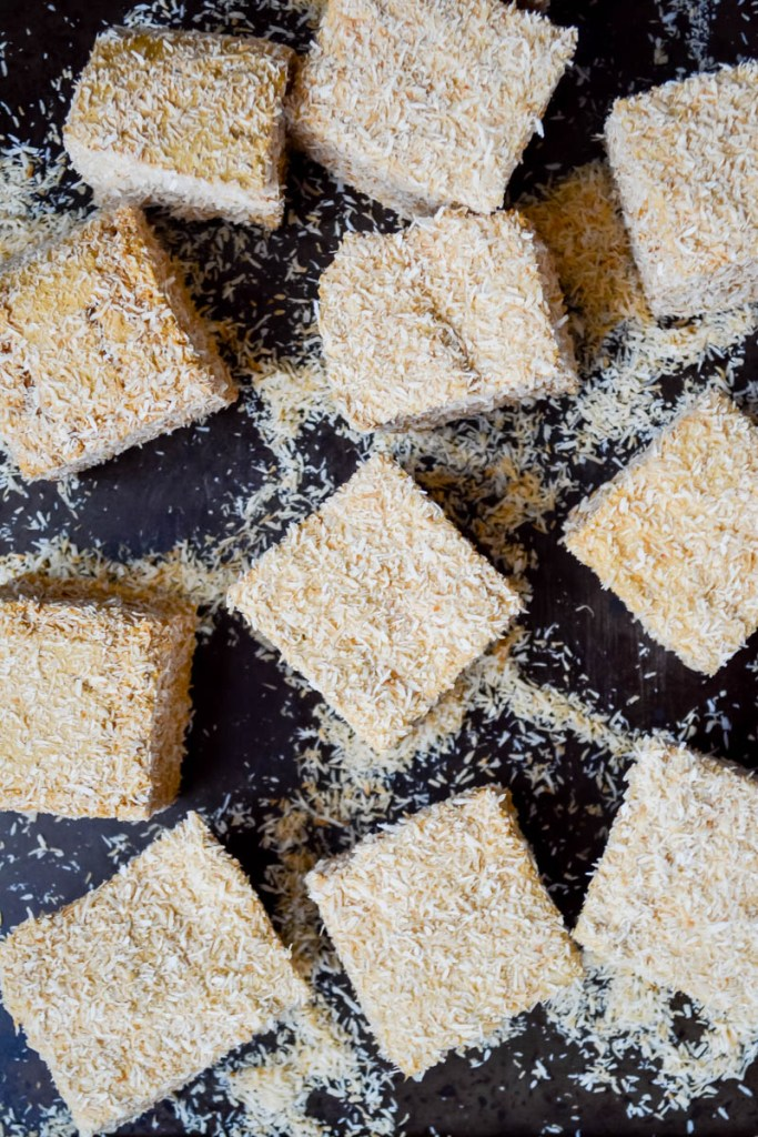 Paleo Salted Caramel & Toasted Coconut Marshmallows (real food, nourishing, refined sugar-free)