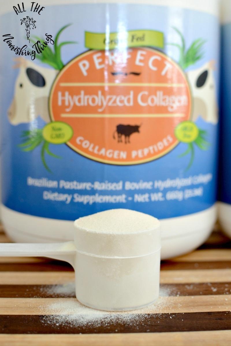 scoop of perfect supplements collagen