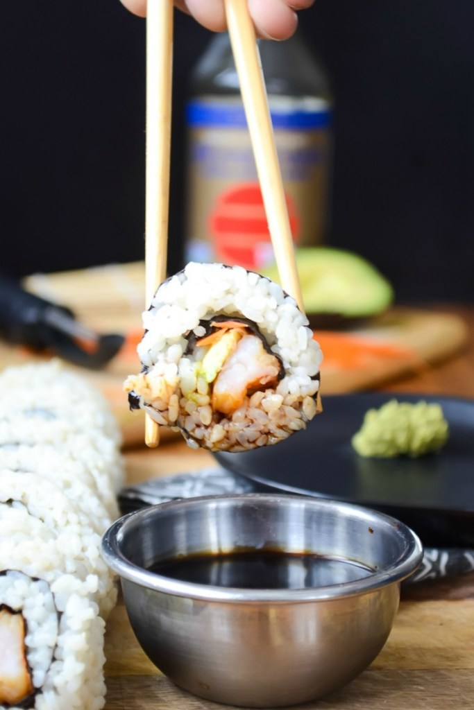 Nourishing Instant Pot Sushi Rice {cooked in bone broth, no agave!}
