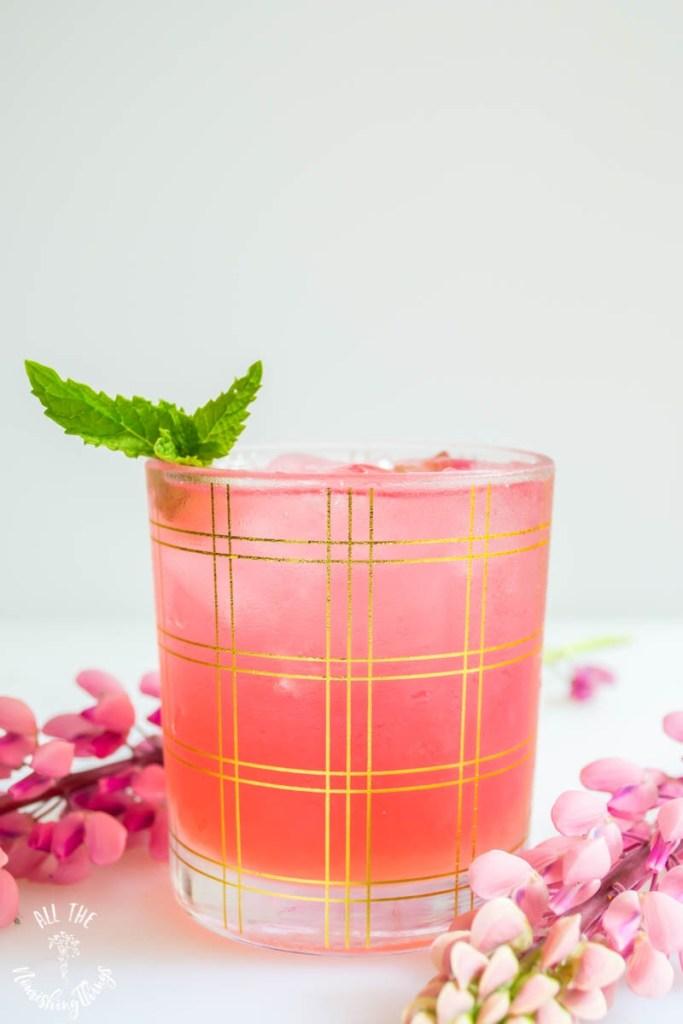2-Ingredient Keto Instant Pot Rhubarb Juice (1-minute cook time!)