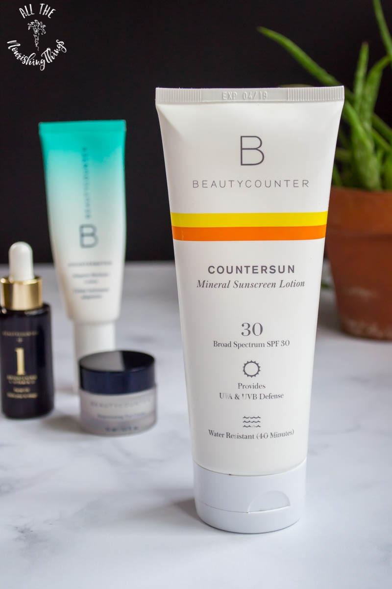 beautycounter countersun mineral sunscreen lotion
