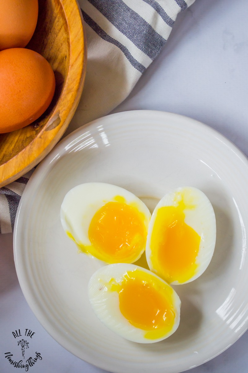 Instant Pot Soft-Boiled Eggs (perfectly runny yolks, no slimy whites!)