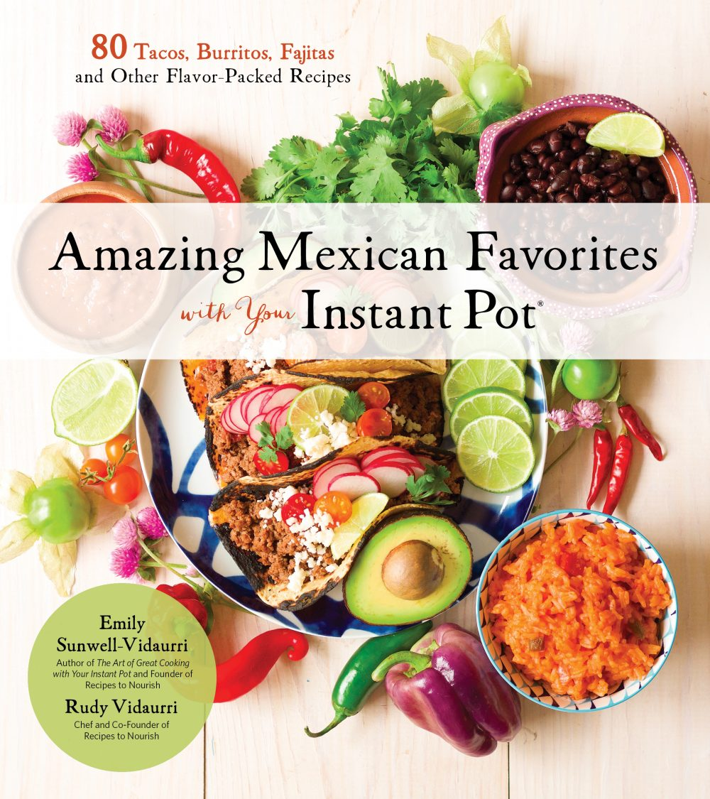 cover art of amazing mexican favorites with your instant pot