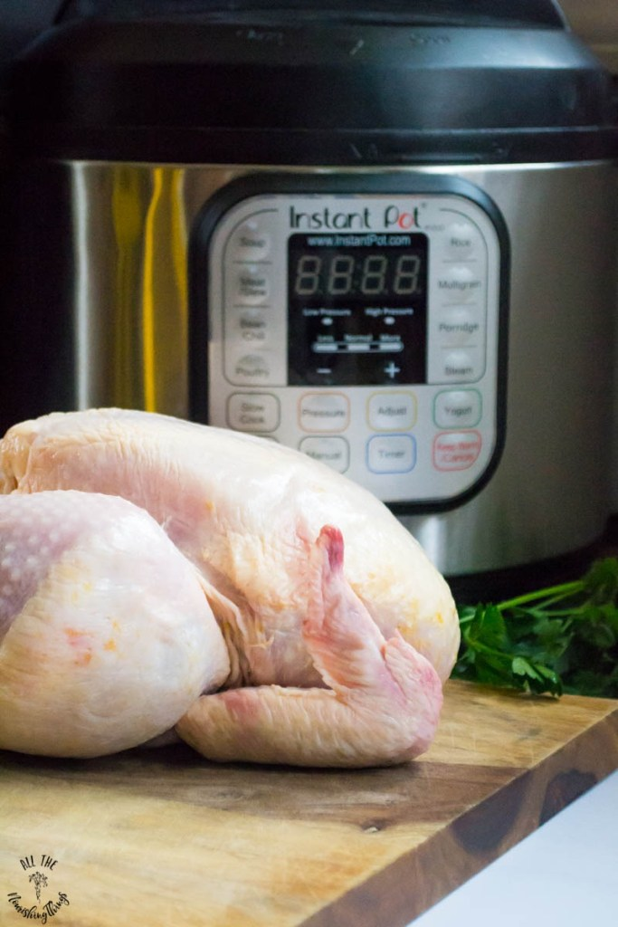 How To Cook a Whole Chicken in the Instant Pot (for easy meal prep!)