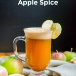 pin image with text of real food copycat starbuck's caramel apple spice