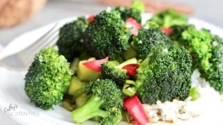 How to Make Gluten Free Broccoli Stir Fry