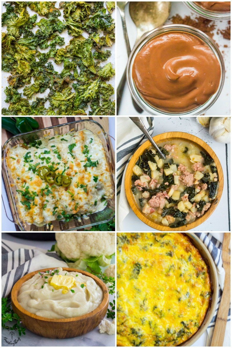 collage of images of recipes starring cruciferous veggies