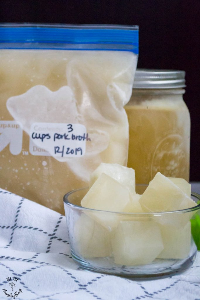 3 Ways to Freeze Bone Broth
