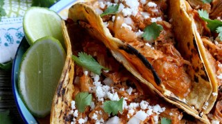 chicken tinga made in the instant pot