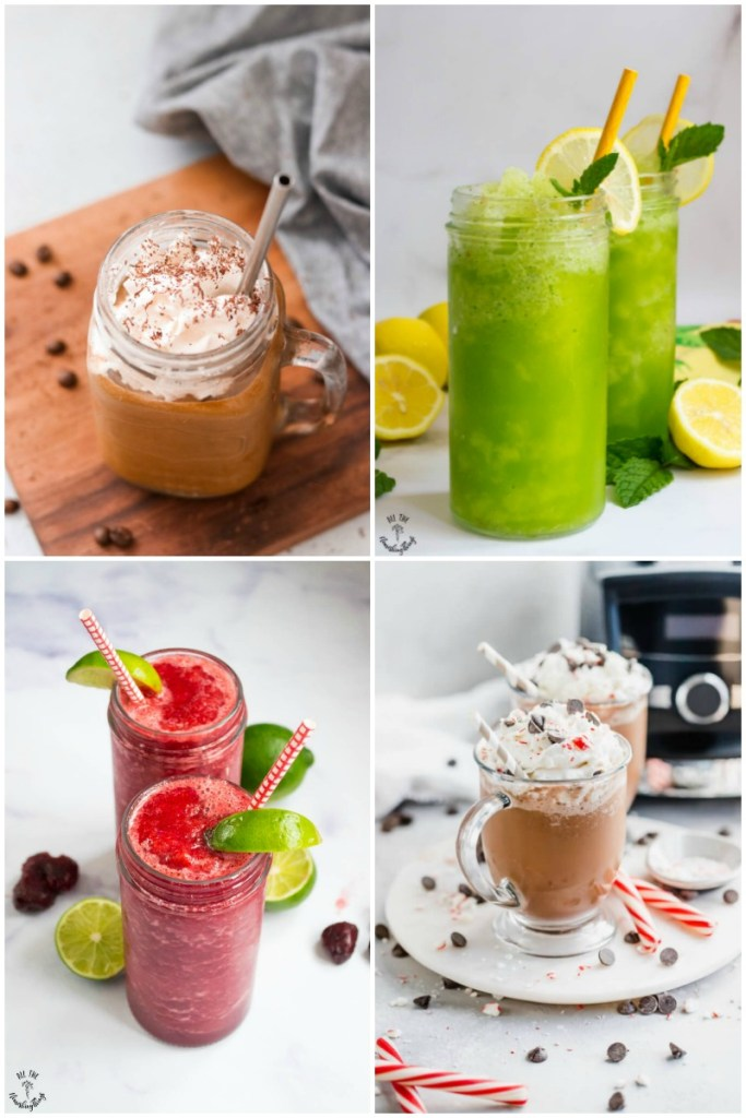 20 Keto Frozen Drink Recipes (slushies, shakes, fraps, & more — dairy-free & vegan options, too!)