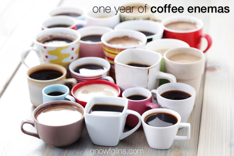 One Year of Coffee Enemas