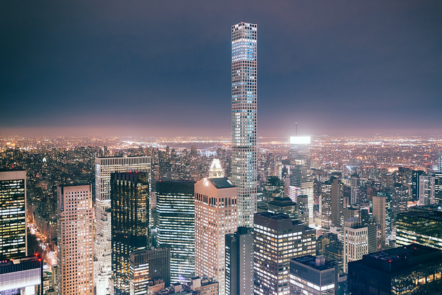 luxury penthouses in New York