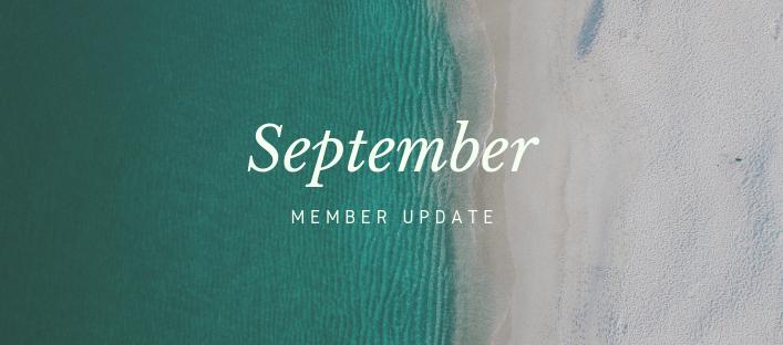 September Member Update